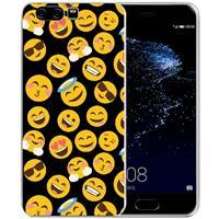 B2Ctelecom Uniek TPU Hoesje Emoji´s Huawei P10 Plus