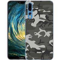 B2Ctelecom Huawei P20 Pro TPU Hoesje Legerprint