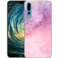 B2Ctelecom Huawei P20 Pro TPU Hoesje Watercolor Pink