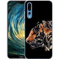 B2Ctelecom Huawei P20 Pro TPU Hoesje Tiger Paint
