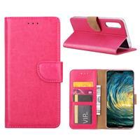 Huawei P20 Pro Hoesje Roze met Pasjeshouder