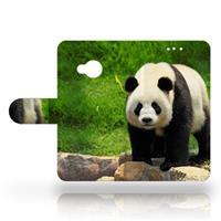 B2Ctelecom HTC U Play Uniek Design Hoesje Panda