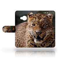 B2Ctelecom HTC U Play Uniek Design Hoesje Luipaard