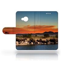 B2Ctelecom HTC U Play Uniek Design Hoesje Olifanten