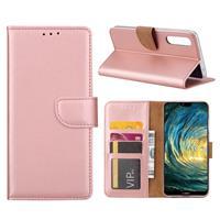 Huawei P20 Pro Hoesje Rose met Pasjeshouder