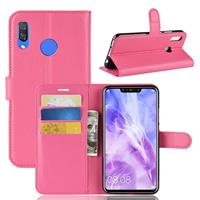 Huawei P Smart Plus Hoesje Roze met Pasjeshouder