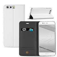 B2Ctelecom Huawei P10 Plus Hoesje Wit met Opbergvakje