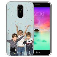 B2Ctelecom LG K10 2017 TPU Hoesje Maken met Foto's