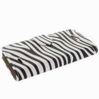 B2Ctelecom LG L90 Bookstyle Case Zebra