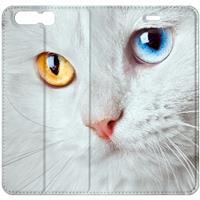 B2Ctelecom Uniek Design Hoesje Witte Kat Huawei P10 Plus
