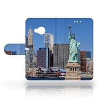 B2Ctelecom HTC U Play Uniek Design Hoesje New York
