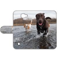 B2Ctelecom LG K4 Uniek Boekhoesje Labrador