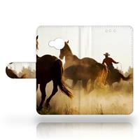 B2Ctelecom HTC U Play Uniek Design Hoesje Cowboy