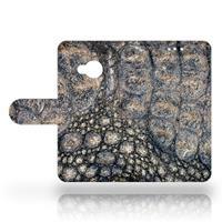 B2Ctelecom HTC U Play Uniek Design Hoesje Krokodillenprint