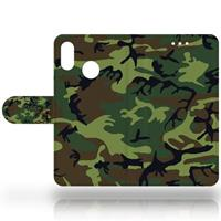 B2Ctelecom Huawei P20 Lite Design Hoesje Army