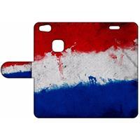 B2Ctelecom Design Hoesje Nederlandse Vlag voor de Huawei P10 Lite