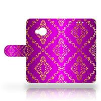 B2Ctelecom HTC U Play Uniek Design Hoesje Barok Roze