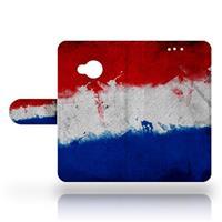 B2Ctelecom HTC U Play Uniek Design Hoesje Nederlandse Vlag
