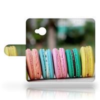 B2Ctelecom HTC U Play Uniek Design Hoesje Macarons