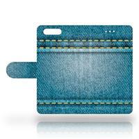 B2Ctelecom Huawei P10 Uniek Design Hoesje Spijkerbroekprint