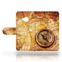 B2Ctelecom HTC U Play Uniek Design Hoesje Kompas