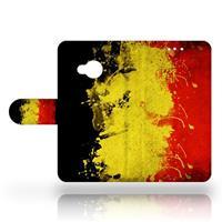 B2Ctelecom HTC U Play Uniek Design Hoesje Belgische Vlag