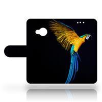 B2Ctelecom HTC U Play Uniek Design Hoesje Papegaai