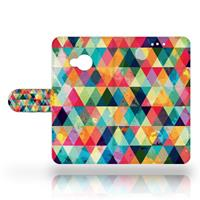 B2Ctelecom HTC U Play Uniek Design Hoesje Geruit