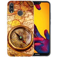 B2Ctelecom Huawei P20 Lite Uniek TPU Hoesje Kompas