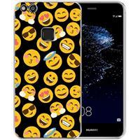 B2Ctelecom Huawei P10 Lite Uniek TPU Hoesje Emoji's
