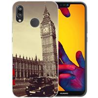 B2Ctelecom Huawei P20 Lite Uniek TPU Hoesje London