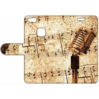 B2Ctelecom Design Hoesje Bladmuziek voor de Huawei P10 Lite