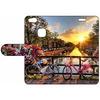B2Ctelecom Design Hoesje Amsterdamse Grachten voor de Huawei P10 Lite