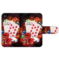 B2Ctelecom Apple iPhone 4   4S Uniek Design Hoesje Casino