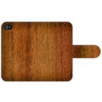 B2Ctelecom Apple iPhone 4   4S Uniek Design Hoesje Wood