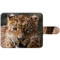 B2Ctelecom Apple iPhone 4   4S Uniek Ontworpen Design Hoesje Luipaard