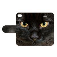 B2Ctelecom Apple iPhone 4   4S Uniek Ontworpen Design Hoesje Zwarte Kat