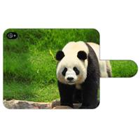 B2Ctelecom Apple iPhone 4/4S Uniek Ontworpen Boekhoesje Panda
