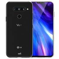 Saii Premium Antiskli LG V40 ThinQ TPU Case - Doorzichtig