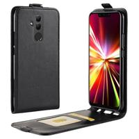 Huawei Mate 20 Lite Flip Hoesje met Creditcardvak - Zwart