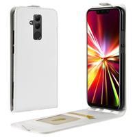 Huawei Mate 20 Lite Flip Hoesje met Creditcardvak - Wit