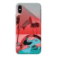 Fashionthings - iPhone Xs Max Hoesje - Back Case Oasis