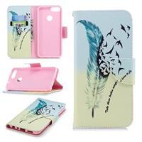 Huawei P Smart Wonder Series Wallet Case - Vogels
