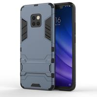 Lunso Double Armor Layer hoes met stand - Huawei Mate 20 Pro - Blauw