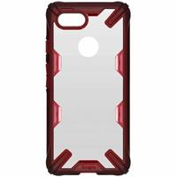 Fusion X Backcover voor Google Pixel 3 - Rood