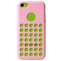 iPhone 5C Code Heat Dissipation TPU Case - Roze