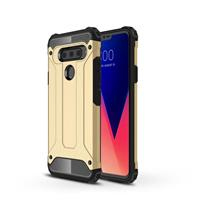 Lunso Armor Guard hoes - LG V40 ThinQ - Goud