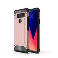Lunso Armor Guard hoes - LG V40 ThinQ - Rose Goud