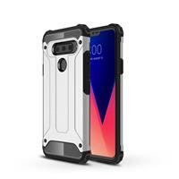 Lunso Armor Guard hoes - LG V40 ThinQ - Zilver