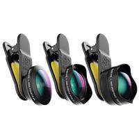 Black eye Pro kit G4 lenzen voor je smartphone